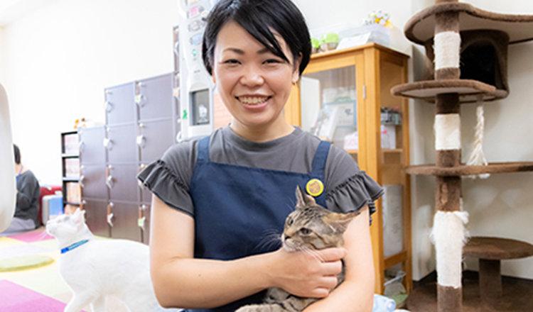 自分らしさを仕事にする!明光ワクワクワーク♪:Vol.23 保護猫カフェオーナー 関根郁子さん