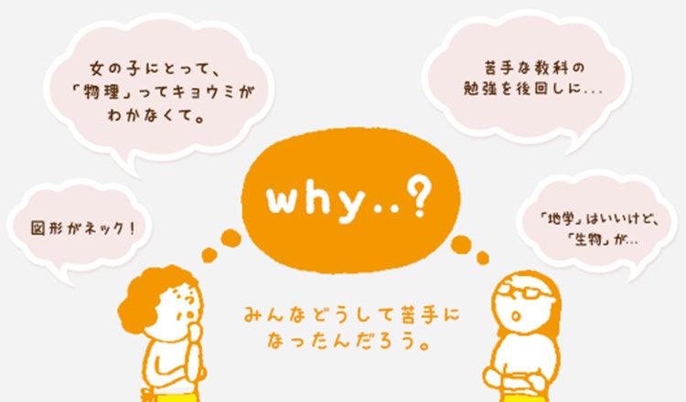 <中学生編>みんなの苦手教科【数学】&【理科】の謎を追え!!
